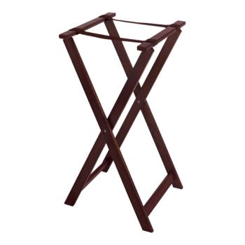 GETTSW103 - GET Enterprises - TSW-103 - 31 1/2 in Mahogany Tray Stand Product Image