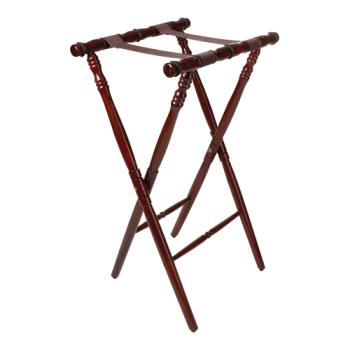 GETTSW104 - GET Enterprises - TSW-104 - 30 1/4 in Mahogany Tray Stand Product Image