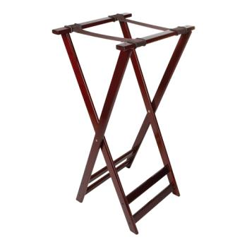 GETTSW105 - GET Enterprises - TSW-105 - 38 in Mahogany Tray Stand Product Image