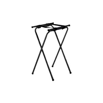 TAB24BK - Tablecraft - 24BK - 31 3/4 in Black Tray Stand Product Image