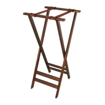 86301 - Update - TSW-32 - 31 in Dark Wood Tray Stand Product Image