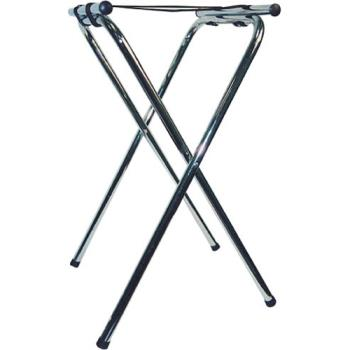 75389 - Winco - TSY-1A - 31 in Chrome Tray Stand Product Image