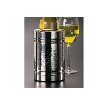 AMMHMWC75 - American Metalcraft - HMWC75 - Hammered Stainless Steel Wine Cooler Product Image