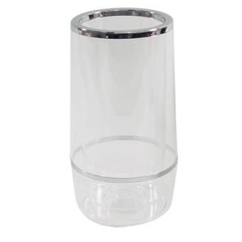 "WINWC4A - Winco - WC-4A - 4 1/2"" Clear Acrylic Wine Cooler Product Image"