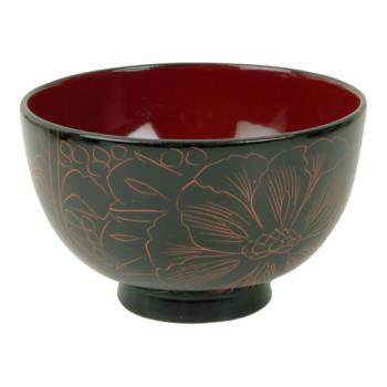 THG452 - Thunder Group - 45-2 - 10.5 oz. Wood Miso & Rice Bowl Product Image