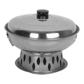 THGSLAL03A - Thunder Group - SLAL03A - 10 in Alcohol Wok Product Image