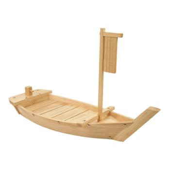 "THGWOBOAT61 - Thunder Group - WOBOAT61 - 24"" Wood Boat Product Image"