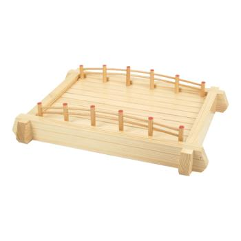 "THGWOBR57 - Thunder Group - WOBR57 - 22 1/2"" Wood Bridge Product Image"