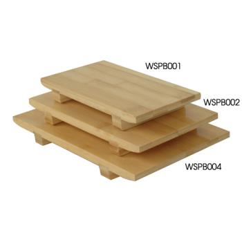 THGWSPB002 - Thunder Group - WSPB002 - Medium Bamboo Sushi Plate Product Image