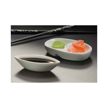 AMMSDV453 - American Metalcraft - SDV453 - Ying Yang Porcelain Sauce Cup Product Image