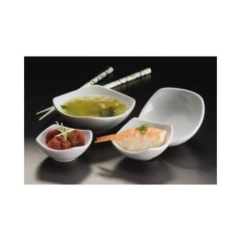 AMMSQSC40 - American Metalcraft - SQSC40 - Squound™ 4 oz Ceramic Sauce Cup Product Image