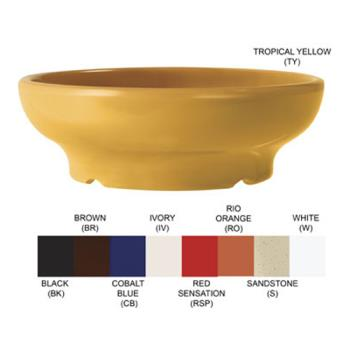 GETSD05TY - GET Enterprises - SD-05-TY - Viva Mexico Tropical Yellow 5 oz Salsa Dish Product Image