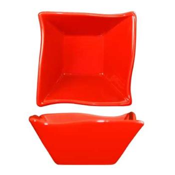 ITWFA11CR - ITI - FA-11-CR - 11 oz Crimson Red Wave Fruit Dish Product Image