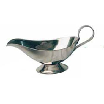 WINGBS10 - Winco - GBS-10 - 10 oz Stainless Steel Gravy Boat Product Image