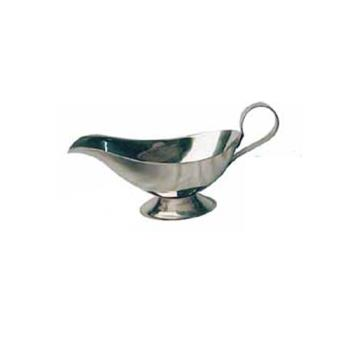 WINGBS3 - Winco - GBS-3 - 3 oz Stainless Steel Gravy Boat Product Image