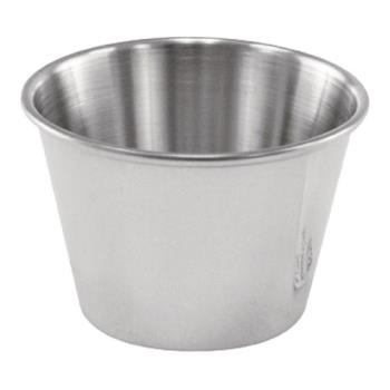 85710 - Winco - SCP-25 - 2 1/2 oz Stainless Steel Cocktail Dish/Sauce Cup Product Image
