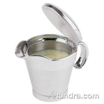 WOR4162004 - World Cuisine - 41620-04 - 13 1/4 oz Stainless Steel Gravy Boat Product Image