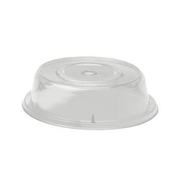 "CAM1007CW152 - Cambro - 1007CW - Camwear® Camcover® Round 10 5/8"" Clear Plate Cover Product Image"