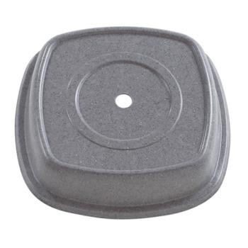 CAM1111SMVS191 - Cambro - 1111SMVS - Versa Camcover® Square 11 1/8 in X 2 3/4 in  Gray Plate Cover Product Image