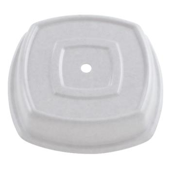 "CAM1212SQVS197 - Cambro - 1212SQVS - Versa Camcover® Square 12 1/8"" Ivory Plate Cover Product Image"