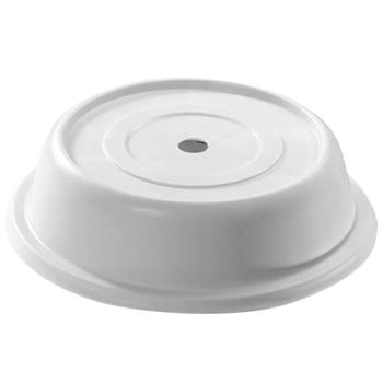 "CAM68VS197 - Cambro - 68VS197 - Versa Camcover® Round 6 1/2"" Ivory Plate Cover Product Image"