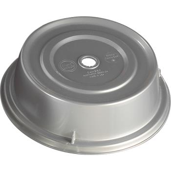 "CAM900CW486 - Cambro - 900CW - Camwear® Camcover® Round 9 1/8"" Silver Plate Cover Product Image"