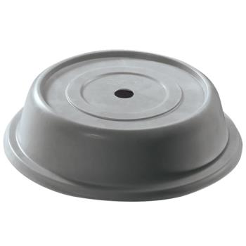 "CAM913VS191 - Cambro - 913VS - Versa Camcover® Round 9 13/16"" Gray Plate Cover Product Image"