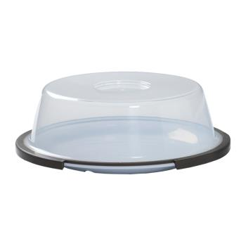 GETCO107CL - GET Enterprises - CO-107-CL - 10 1/2 in Clear Evolution™ Reusable Plate Cover for WP-10 Product Image
