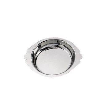 AMMAR100 - American Metalcraft - AR100 - 10 oz Round Stainless Steel Au Gratin Dish Product Image