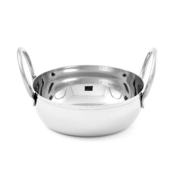 AMMBD35 - American Metalcraft - BD35 - 4 in Stainless Steel Balti Dish Product Image