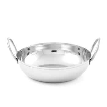 AMMBD55 - American Metalcraft - BD55 - 5 1/2 in SS Balti Dish Product Image