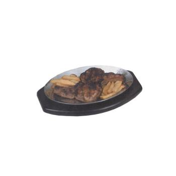 AMMPLA710 - American Metalcraft - PLA710 - 10 1/2 in x 7 in Sizzle Platter Product Image