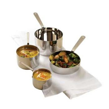 AMMSHSP53 - American Metalcraft - SHSP53 - 4 3/4 in Mini Stainless Steel Pot Product Image