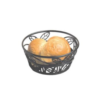 AMMBLLB81 - American Metalcraft - BLLB81 - Ironworks™ 8 in Round Leaf Wrought Iron Bread Basket Product Image
