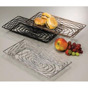 AMMBNBB91 - American Metalcraft - BNBB91 - Black Small Rectangular Birdnest Basket Product Image