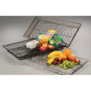 AMMBNBC20132 - American Metalcraft - BNBC20132 - Chrome Large Rectangular Birdnest Basket Product Image