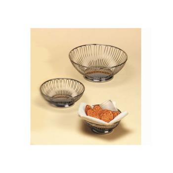 AMMBSS7 - American Metalcraft - BSS7 - 6 5/8 in Round Stainless Steel Basket Product Image