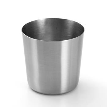 AMMFFC337 - American Metalcraft - FFC337 - 14 oz Ironworks™ Satin Finish Stainless Fry Cup Product Image