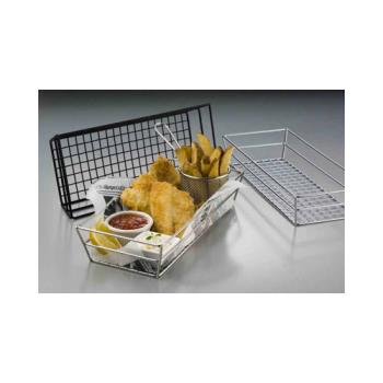 AMMGCRB2613 - American Metalcraft - GCRB2613 - 13 in x 6 in Black Grid Basket Product Image