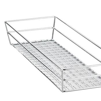 AMMGCSS6132 - American Metalcraft - GCSS6132 - 13 in x 6 in Stainless Steel Grid Basket Product Image