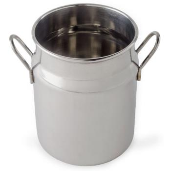 AMMMICH25 - American Metalcraft - MICH25 - 2 1/2 oz Stainless Steel Milk Can Product Image