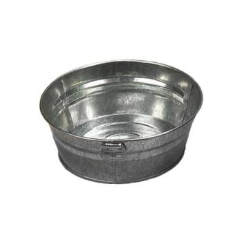AMMMTUB83 - American Metalcraft - MTUB83 - 8 in 3 in Galvanized Tub Product Image