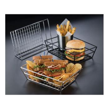 AMMRMB59C - American Metalcraft - RMB59C - 9 in x 6 in Chrome Grid Basket Product Image