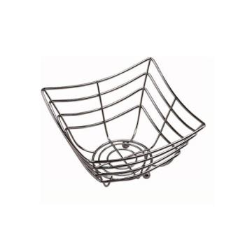 AMMSCB480 - American Metalcraft - SCB480 - 8 in Square x 4 in Chrome Web Basket Product Image