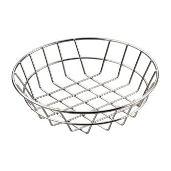 AMMWISS10 - American Metalcraft - WISS10 - 10 in Round Stainless Steel Wire Basket Product Image