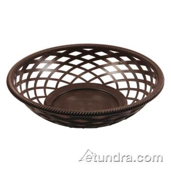 BARCR655BR - Bar Maid - CR-655BR - Round Brown Basket Product Image