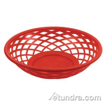 BARCR655R - Bar Maid - CR-655R - Round Red Basket Product Image