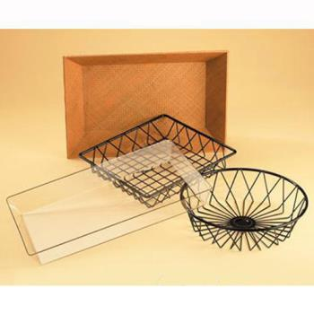 CLM1293TRAY - Cal-Mil - 1293TRAY - 12 in Square Wire Basket Product Image