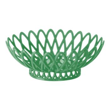 GETOB940FG - GET Enterprises - OB-940-FG - 10 in x 8 1/2 in Forest Green Oval Basket Product Image
