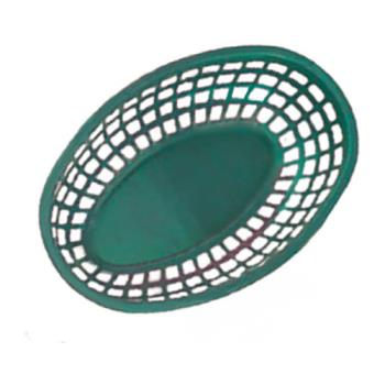 GETOB938G - GET Enterprises - OB-938-G - 9 1/2 in Green Oval Basket Product Image
